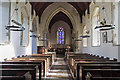 TG0135 : Interior, St Mary's church, Gunthorpe by J.Hannan-Briggs