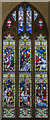TG0135 : Stained glass window, St Mary's church, Gunthorpe by J.Hannan-Briggs