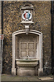 TR3752 : Drinking fountain, The Town Hall by Ian Capper