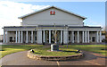 SK5903 : De Montfort Hall by Richard Croft