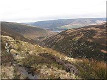 SK0796 : Pennine Way above Torside Clough by Gareth James