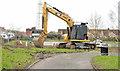 J3673 : Knock River works, Belfast - February 2014(2) by Albert Bridge