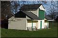 SE3826 : Methley cricket club pavilion by Ian S