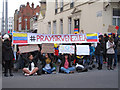 TQ2678 : Protest outside of Venezuelan Embassy #PrayForVenezuela by Roger Jones