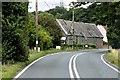 TM0744 : A1071 near Park Farm by David Dixon