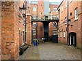 SJ8382 : Mill Yard, Quarry Bank Mill by David Dixon