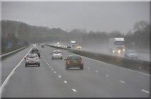 ST0104 : Mid Devon : The M5 Motorway by Lewis Clarke