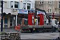 SH7882 : Taking away telephone box from Gloddaeth Street by Ian S