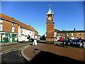 TF4958 : Market Place Clocktower, Wainfleet by Richard Hoare