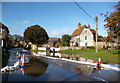 SU2675 : Groundwater Flooding in Aldbourne 3 by Des Blenkinsopp
