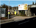 ST3188 : Advertising hoarding, Caerleon Road, Newport by Jaggery