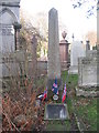 NT2373 : Memorial to a Confederate soldier in Dean Cemetery by M J Richardson