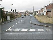 SE0729 : Wentworth Drive - School Lane by Betty Longbottom