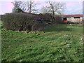 SU0891 : Ruined farm outbuildings, Blakehill Farm by Vieve Forward