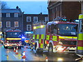 SU7174 : Fire engines at the pub by Bill Nicholls