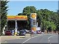 TM2649 : Shell Garage, Grove Road, Drybridge Hill by David Dixon