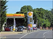 TM2649 : Shell Garage, Grove Road, Drybridge Hill by David Dixon
