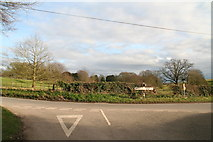 TF4571 : Junction of Psalter Road and Willoughby Road in Claxby St. Andrew by Chris