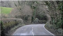 SX0270 : North Cornwall : The A389 by Lewis Clarke