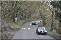 SX0271 : North Cornwall : The A389 by Lewis Clarke