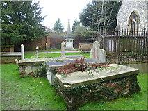 TQ1667 : St Nicholas Churchyard, Thames Ditton by Marathon