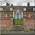 SK2327 : Rolleston Almshouses, gateway by Alan Murray-Rust