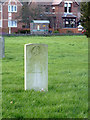 SK2526 : War Graves Commission gravestone in Stretton churchyard by Alan Murray-Rust