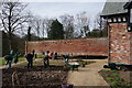 SJ8383 : Tilling the soil at Quarry Bank Mill by Peter Barr