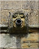 SK4665 : Church water spout - Ault Hucknall by Neil Theasby