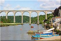 SX4368 : Calstock Viaduct by Wayland Smith