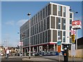 ST3088 : New office block, Queensway, Newport by Robin Drayton