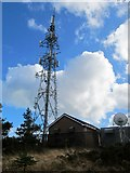 J3630 : Drinnahilly Television and Radio Relay Station above Newcastle by Eric Jones