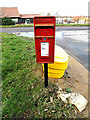 TM3388 : Woodland Drive Postbox by Adrian Cable