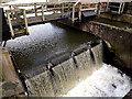TM3691 : River Waveney Weir by Adrian Cable