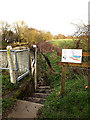 TM3691 : Path off Mill Pool Lane by Adrian Cable