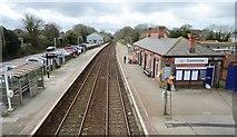SW6439 : Camborne Railway Station by Ashley Dace
