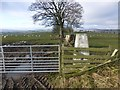 NU0105 : Trig point at High Trewhitt by Russel Wills