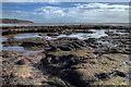 SY0179 : Maer rocks, Exmouth by David P Howard