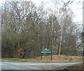SJ5868 : The entrance to Abbots Moss Nursery by Anthony Parkes