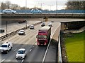 SD8004 : Eastbound M60, Whitefield Interchange by David Dixon
