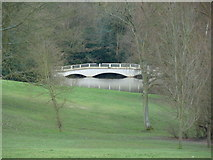 TQ2787 : A folly bridge in the grounds of Kenwood House by Robert Lamb