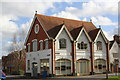 SU6089 : Ptolomy House at Reading Road/Lower Wharf junction by Roger Templeman