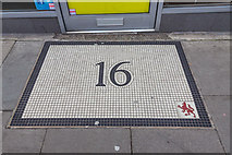 TQ3296 : Building Number, Church Street, Enfield by Christine Matthews