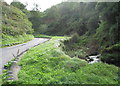 SS6949 : Road from the beach 3-Lee Abbey, North Devon by Martin Richard Phelan