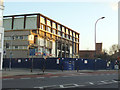 TQ3874 : Demolition of Ladywell Leisure Centre by Stephen Craven