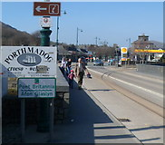 SH5738 : Welcome to Porthmadog  by Jaggery