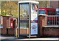 J3771 : Postbox and telephone box, Castlereagh, Belfast by Albert Bridge