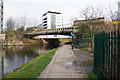 TQ3783 : The Northern Outfall Sewer over the River Lea by Ian S