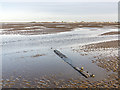 SD3117 : Low tide on Southport beach by William Starkey