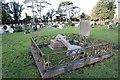 SP5010 : Cross laying down by Bill Nicholls
